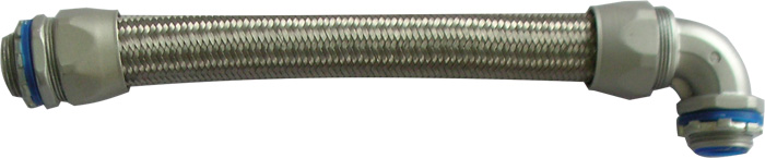 Heavy Series Over Braided Metal Liquid Tight Conduit