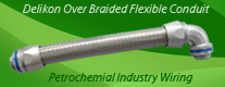 Over Braided Flexible Conduit for Petrochemial Industry Wiring (Hazardous Locations Cable Conduit)