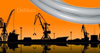 Delikon Liquid Tight Conduit, Liquid Tight Conduit fittings for Port Equipment and Cargo Crane Cable Protection