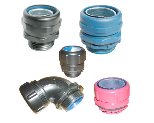 LT connectors in different colors