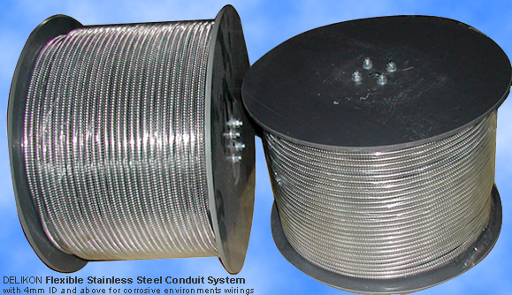 Small Bore Stainless Steel Flexible Conduit
